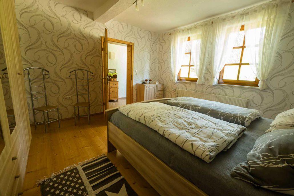 Ferienwohnung in Bad Sooden-Allendorf / Kleinvach Schlafzimmer