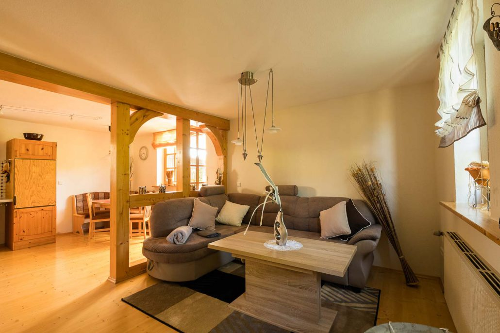 Ferienwohnung in Bad Sooden-Allendorf / Kleinvach Wohnzimmer